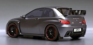 2007 Subaru Impreza WRX STI Concept Design by Lars Martensson 3