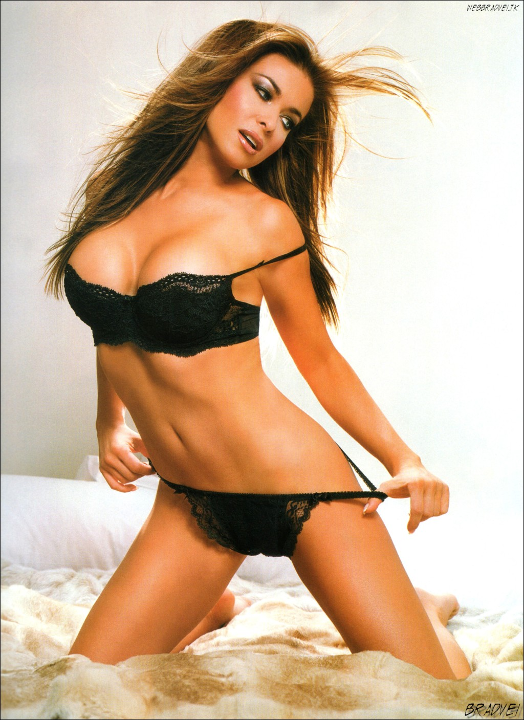 hot carmen electra open