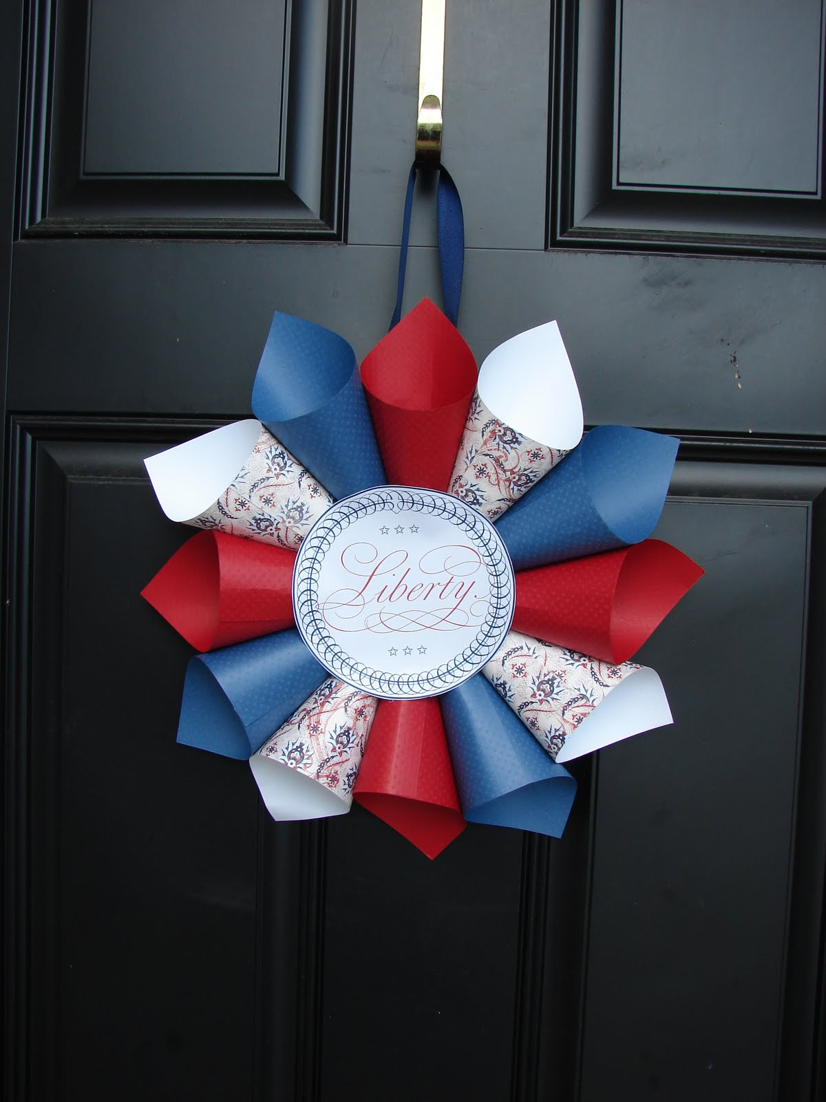 my blessed life fun with 4th of july crafts part 3. Black Bedroom Furniture Sets. Home Design Ideas