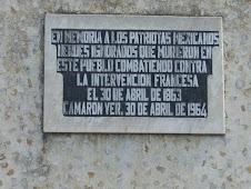 Placa Alusiva en Obelisco