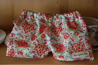 Baby shorts (a gift).