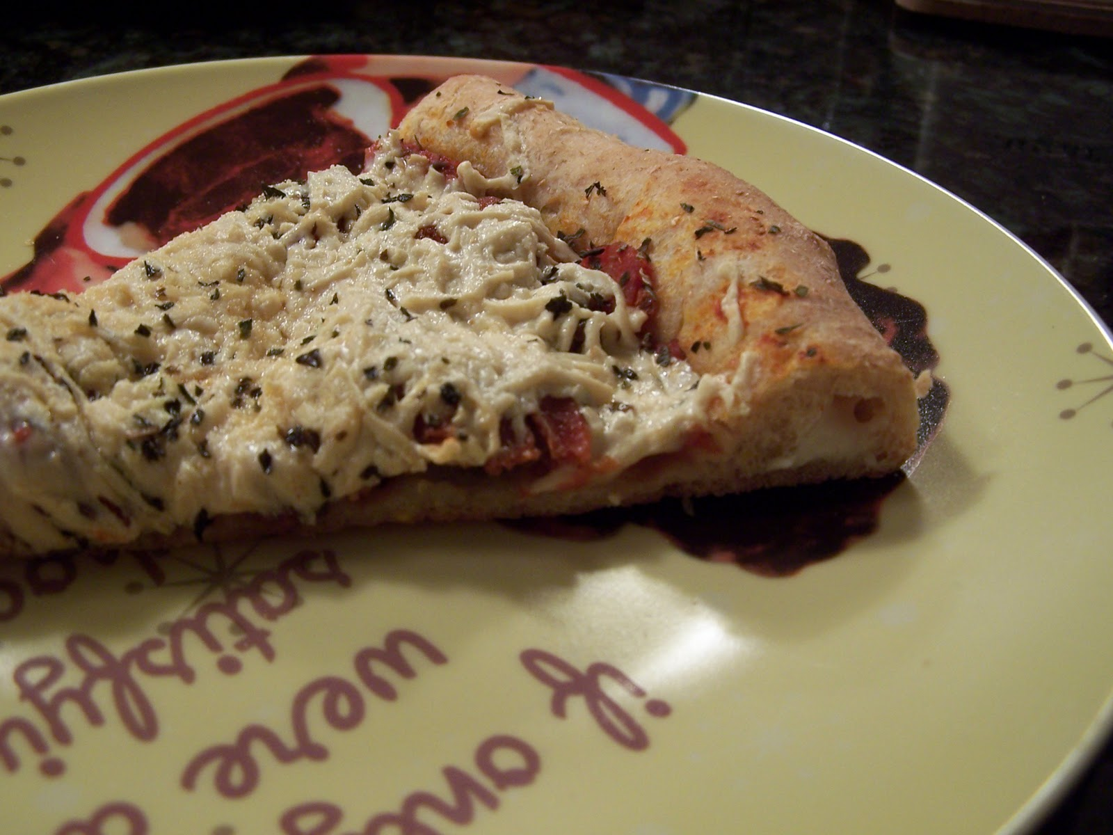 Vegan Miss Stuffed Crust Pizza