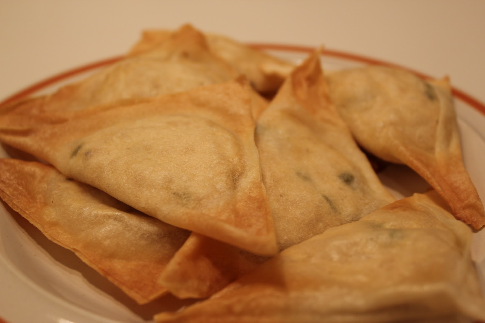 Vegan Miss | It's the Bee's Knees, Daddy!: Baked Crab Rangoon