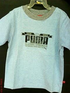 PUMA T-SHIRT, SIZE: 5Y