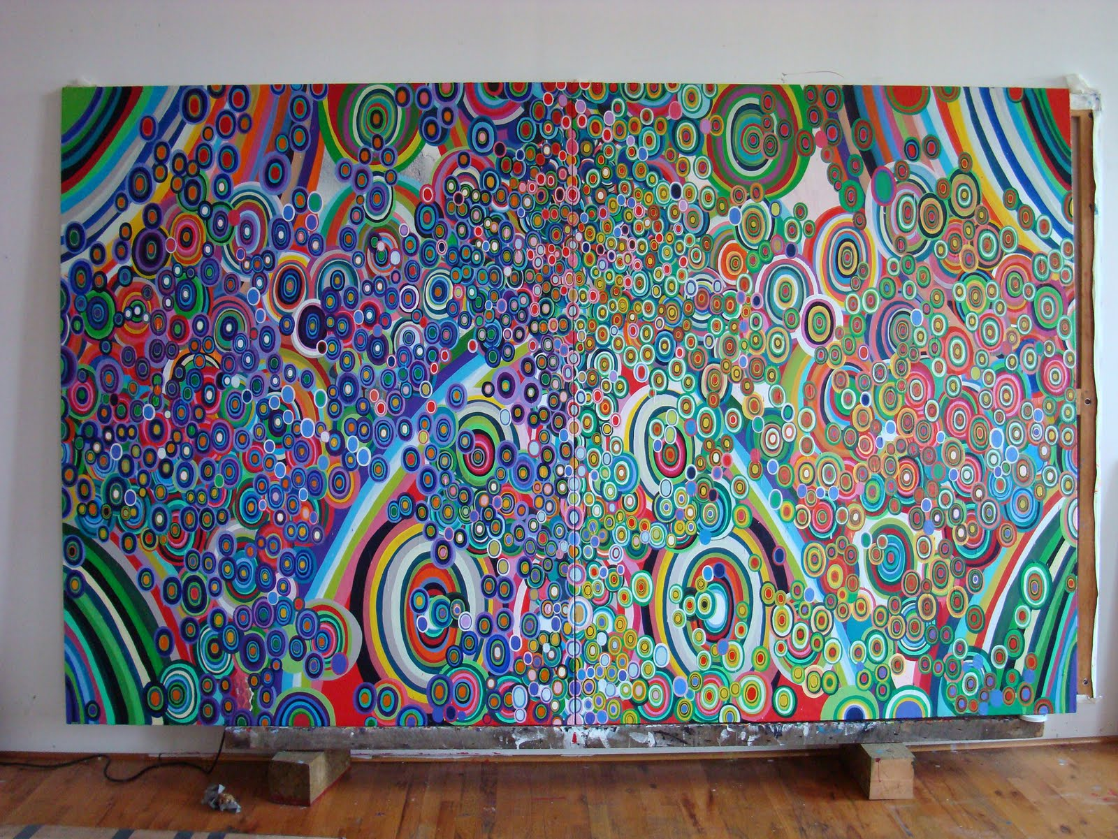 Art inspiration jeff lewis artist interview for Mural inspiration