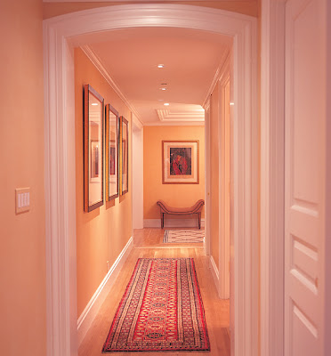 Vrooms peach color of house - Peach color for living room ...