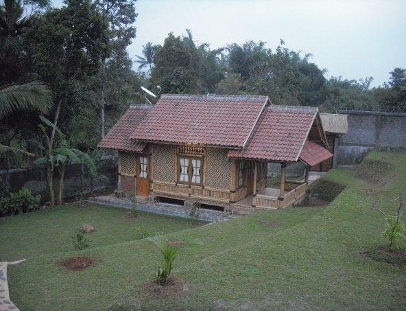 desain rumah semi bambu & Denah: NEW DESAIN RUMAH SEMI BAMBU