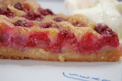 Hungry Bruno: Brown Butter Raspberry Tart