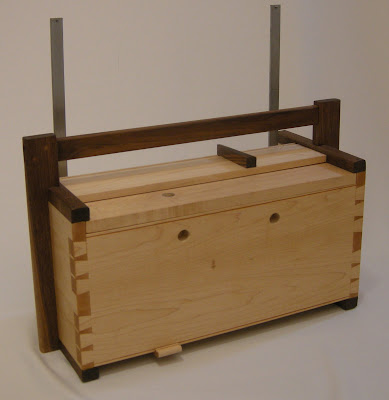 Wooden Wood Tool Box Chest Cabinet