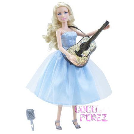 taylor swift our song dresses. this T-Swift doll can sing Our