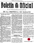 "Sobre el ""Viva la Repblica"" de Yage en Badajoz en 1936"