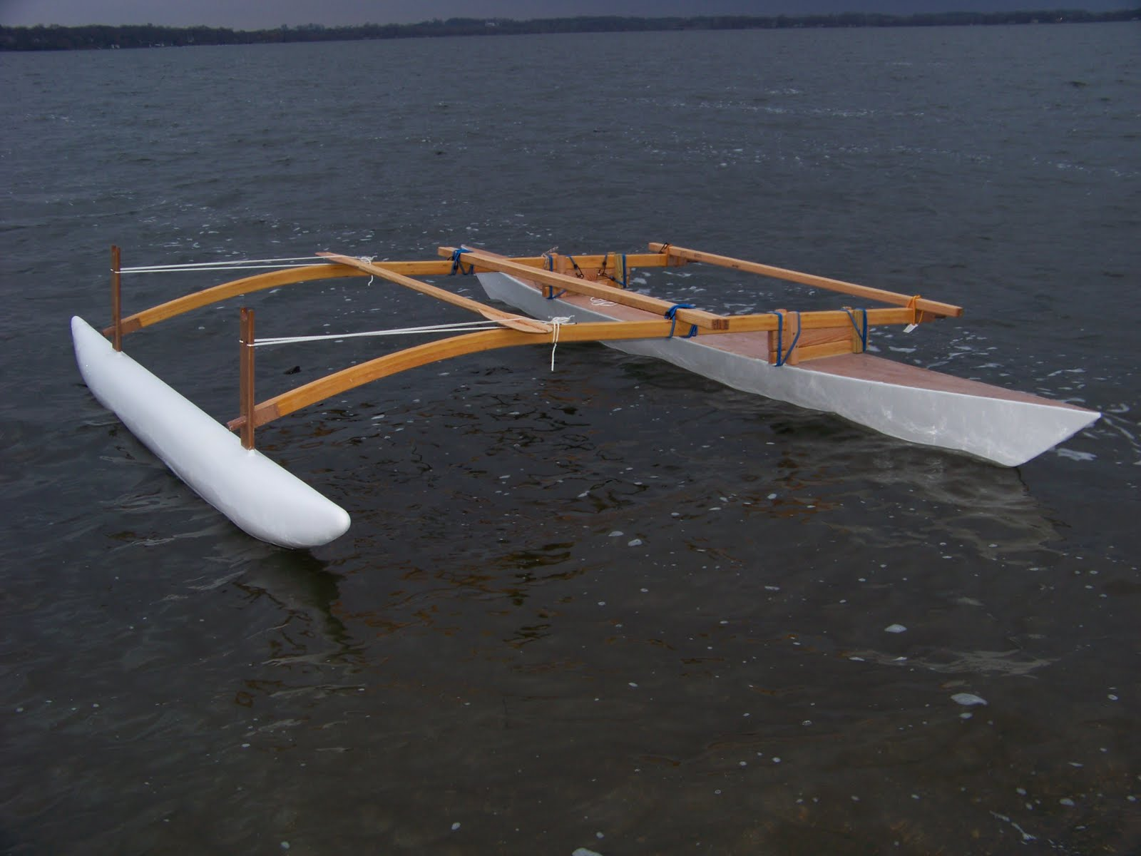 Doug Weir S Proa Project For Paddling Sailing And Marine