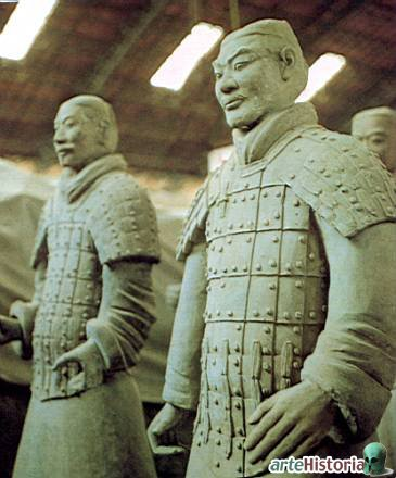 Ejercito en la tumba del Emperador Qin