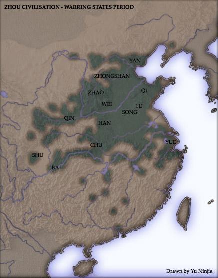 region de los Reinos combatientes