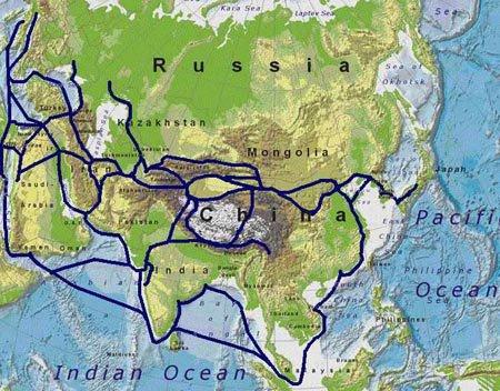 Ruta de la seda (maritima y terrestres)