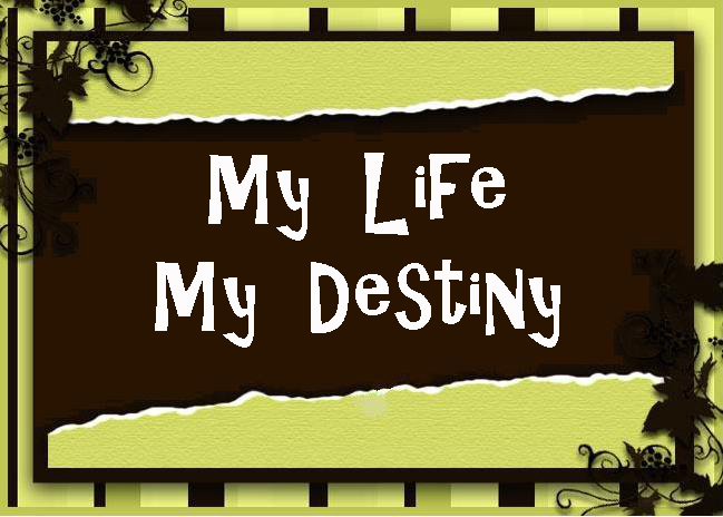My Life My Destiny