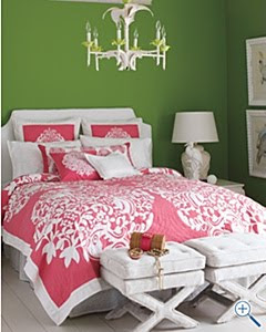 Maryland Pink and Green: Lilly Pulitzer for Garnet Hill