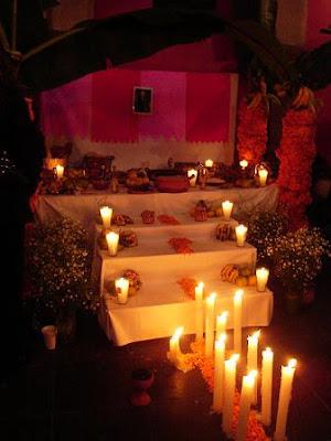 altar con velas dia de los muertos jpgVelas Dia De Los Muertos