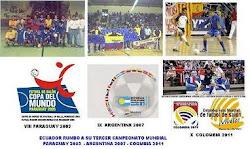 ECUADOR RUMBO A SU TERCER MUNDIAL