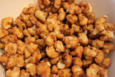 Microwave Caramel Corn Recipe :: Confessions of a Stamping Addict