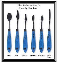 Meet the Palette Knife Family