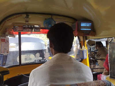 mumbai innovative rickshaw driver