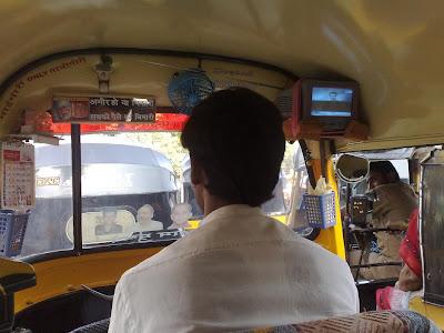 mumbai innovative rickshaw driver