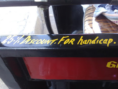 25% discount for disabled in auto rickshaw