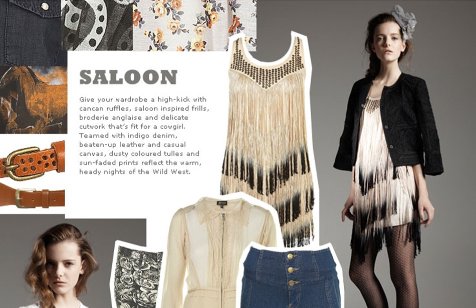 Topshop Saloon Kolleksiyonu
