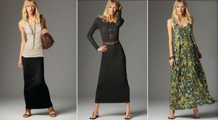 Maxi Elbise ve Etekler
