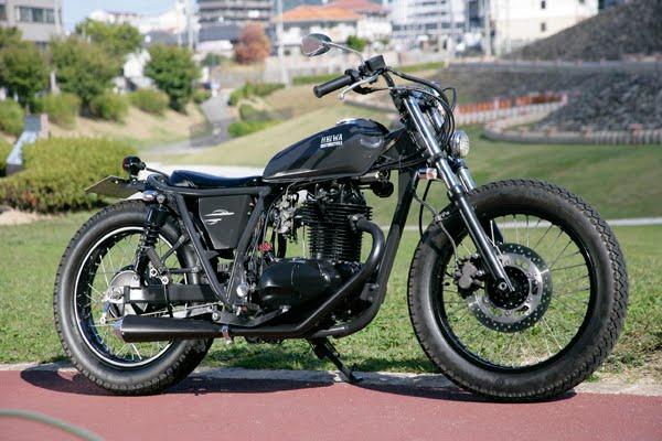 Small Sun Custom  HEIWA custom Honda CB77 Kawasaki TR250