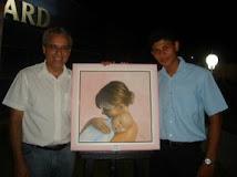 Vernissage do Artista Plástico Marco Melo na Escola de Linguas Wizard - Contato 8405-8651