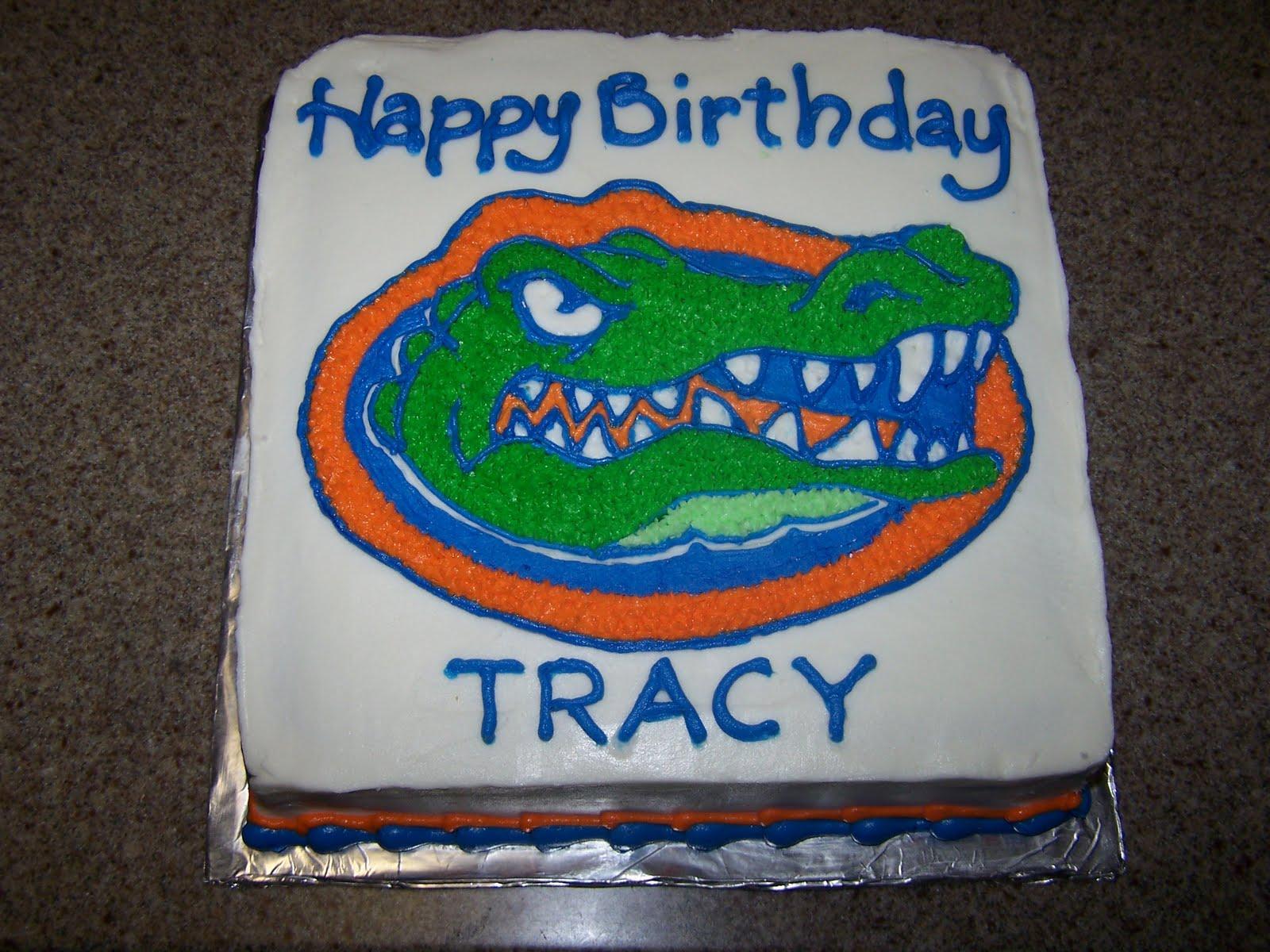 Creative Cakes N More Florida Gators Cake