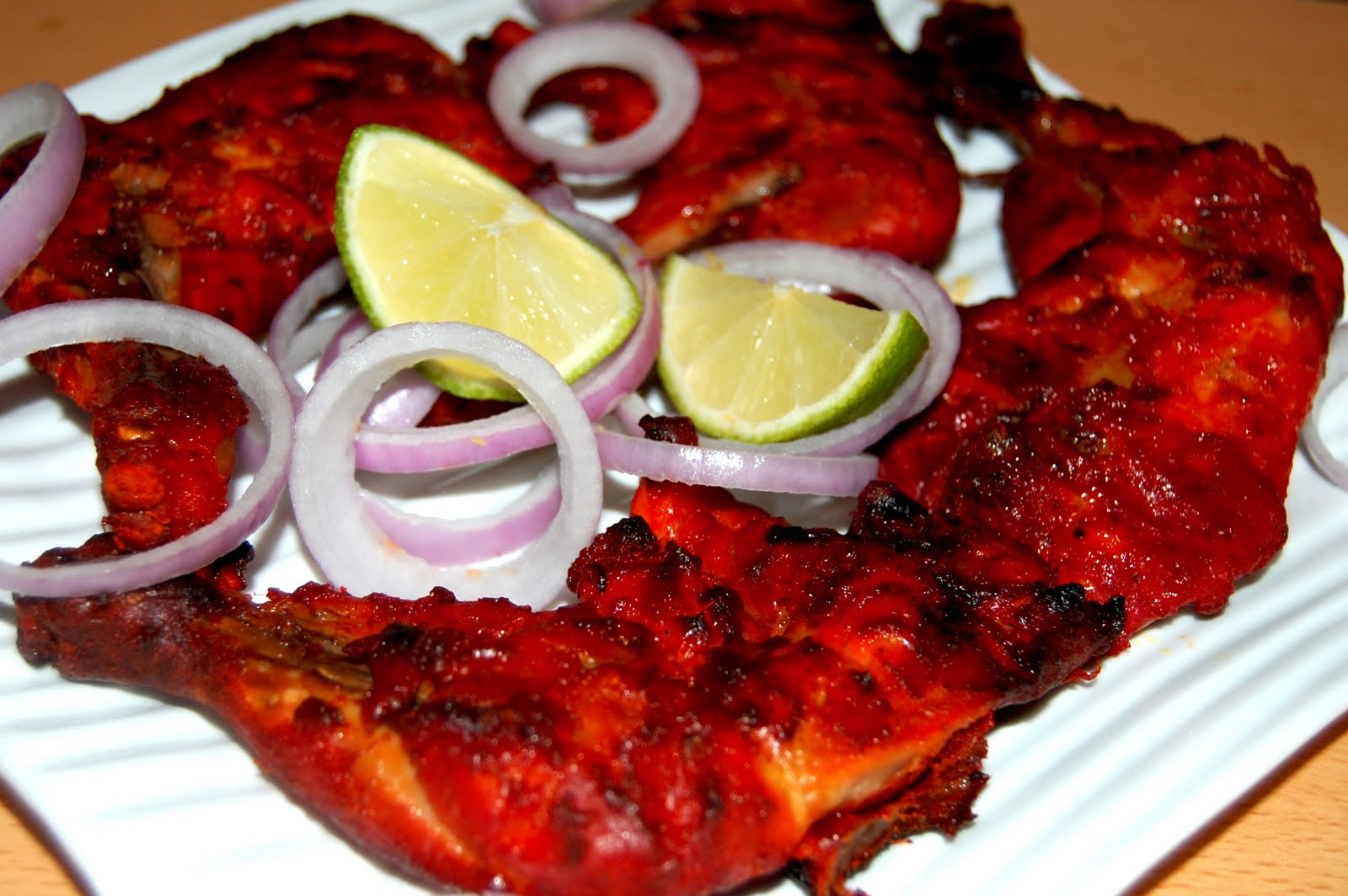 Anju's Kitchen Treasures: Tandoori Chicken legs