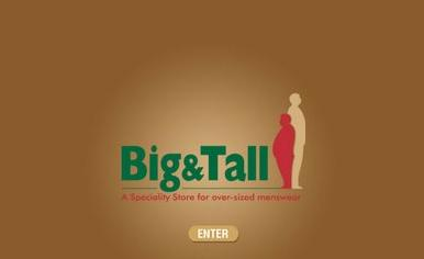 Mens Big and Tall Clothing