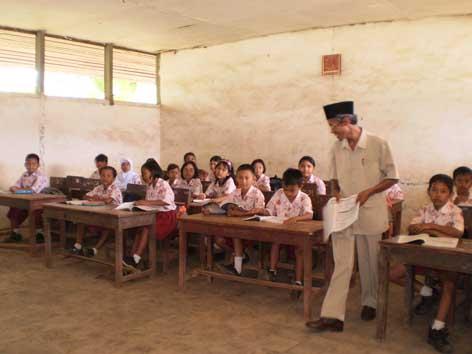 Bidang studi Bahasa Inggris untuk SD tidak akan terdapat lagi dalam