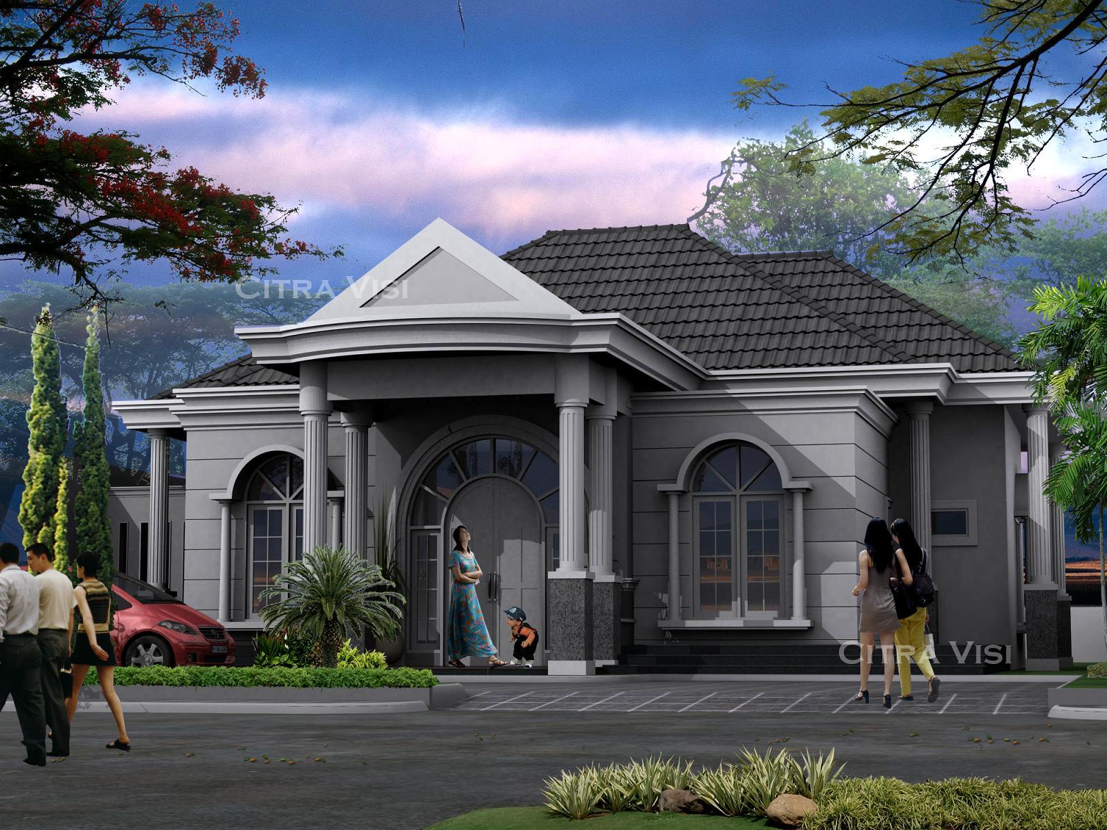 rumah klasik padang project 3d rumah klasik padang konsultan perencana