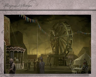 Gatheryn - steampunk mmo game
