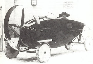 Leyat Helica circa 1913 - a steampunk original car