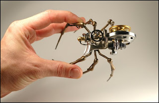 Christopher Conte steampunk spider 1