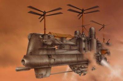 steampunk airship1