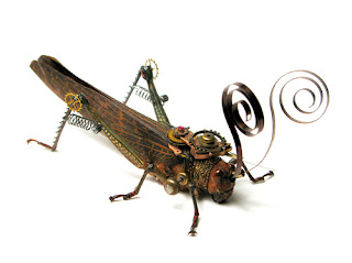 steampunk grasshopper