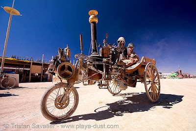 steam runabout