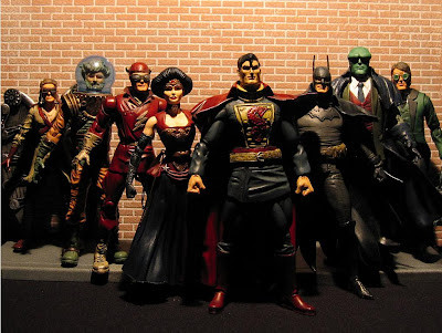Sillof's steampunk action figures - justice league