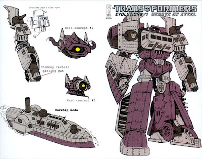 steampunk transformers - shockwave