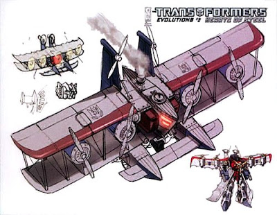 steampunk transformers - starscream 2