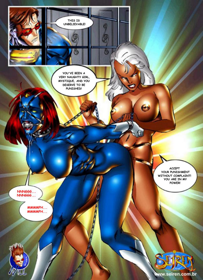 Sex With Mystique 14
