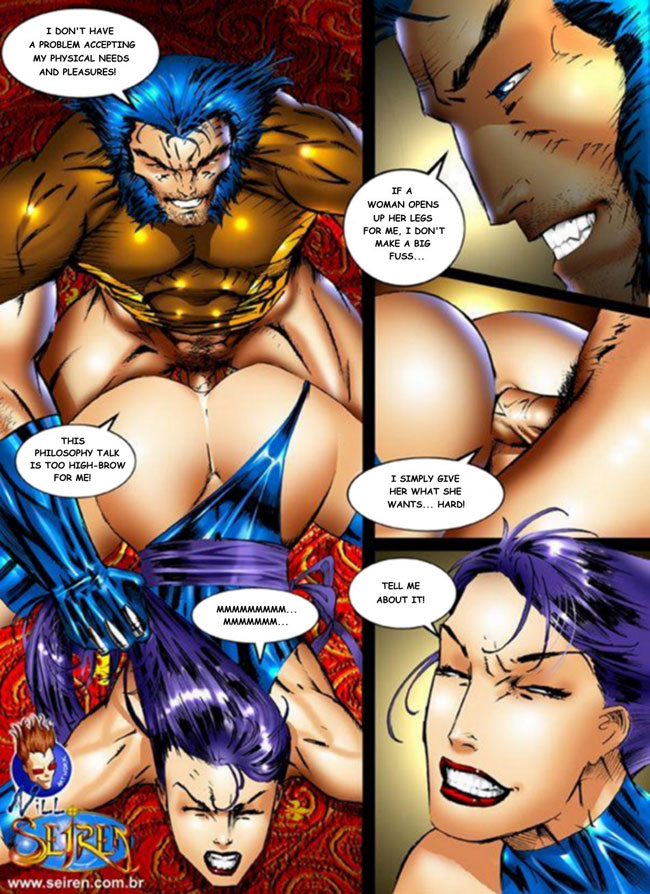 Marvel comics porn stories