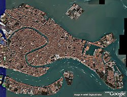 Veduta aerea Venezia