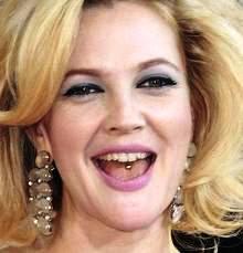 Drew barrymore tongue Piercings